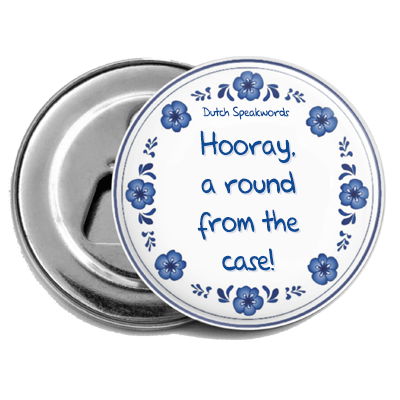 Hooray a rond from the case