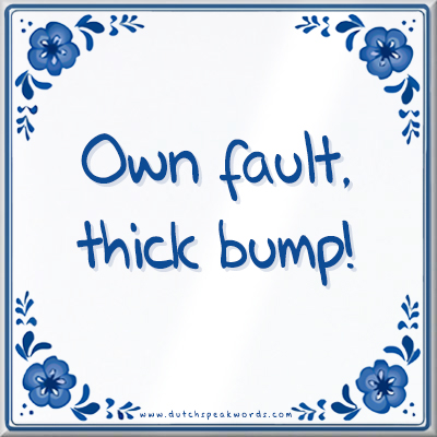 Own fault thick bump2