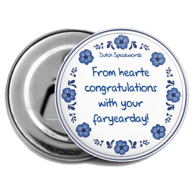 From hearte congratulations