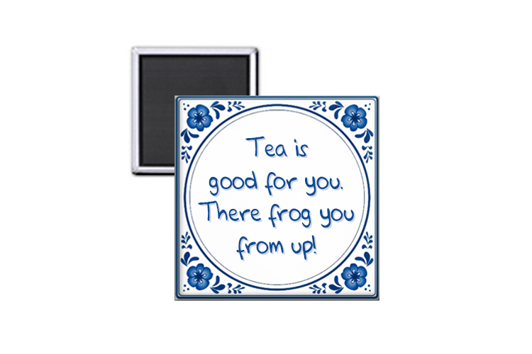 Tea is good for you