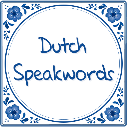 Dutch Speakwords